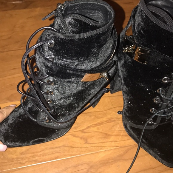 17b35a3d9d84d Giuseppe Zanotti Shoes | Giuseppe Lace Up Ankle Buckle Boots | Poshmark